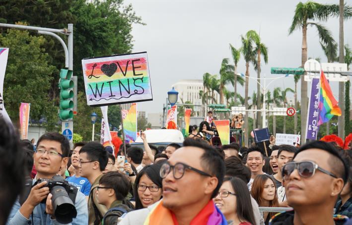 Gay Pride Event in Taipei, Taiwan