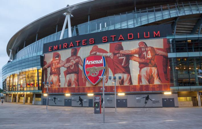 Arsenal's Emirates Stadium, London