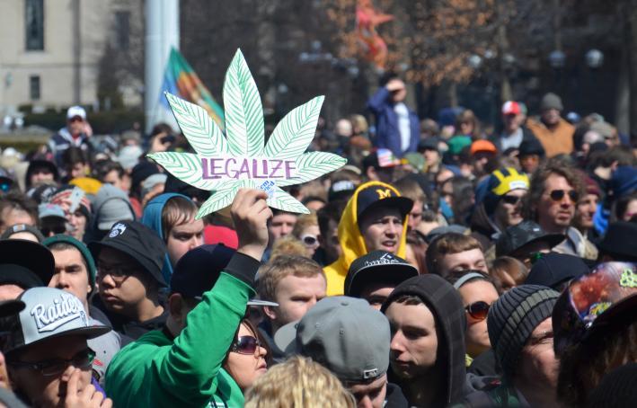 Legalise marijuana