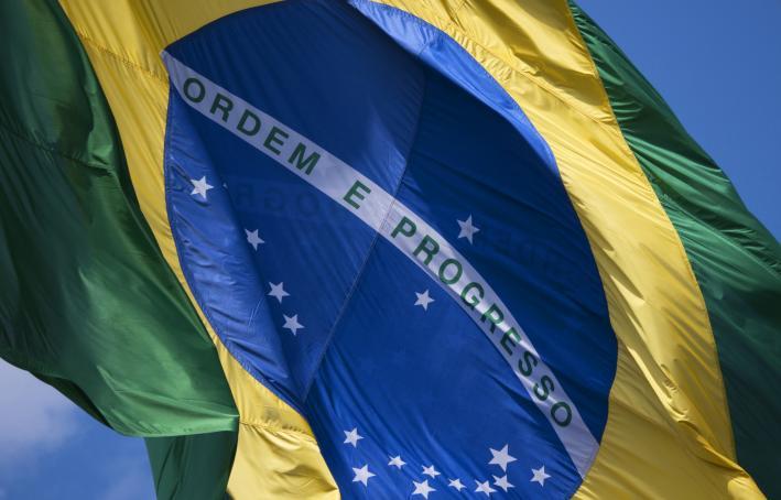 Brazil's national flag