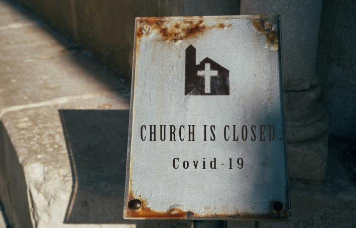 Church is closed covid-19