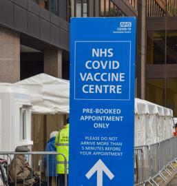 UK vaccine centre