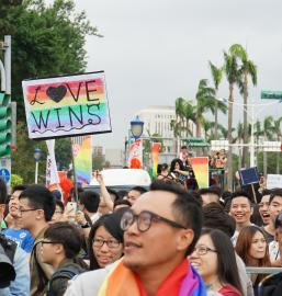 Gay Pride Event in Taipei, Taiwan