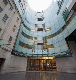 BBC Broadcasting House headquarters of the British Broadcasting Corporation in Portland Place