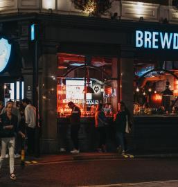 BrewDog pub in Covent Garden, London