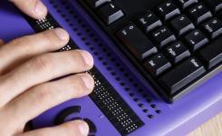 Braille computer
