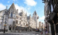 The Royal Courts of Justice, Central London