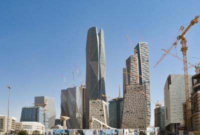 Riyadh Saudi Arabia King Abdullah Financial District